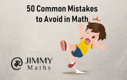 50 Common Mistakes to Avoid in Math